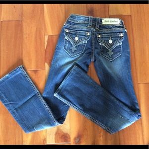 Rock Revival Julia boot jeans size 25 x 33